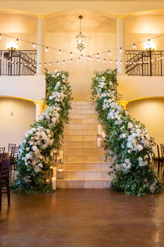 Staircase Sidney and Tanner - Wedding Planned by Weddings by Stardust, Dallas, FT Worth
