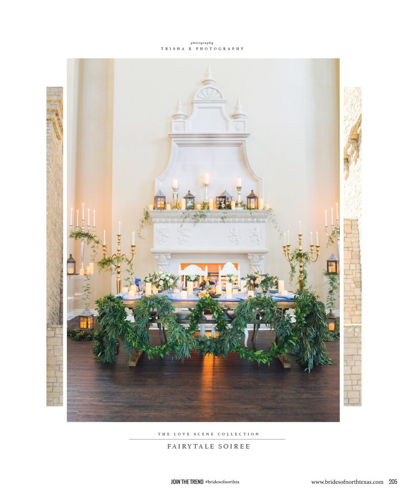 Fairytale Soiree Reception by Dallas Wedding Planning