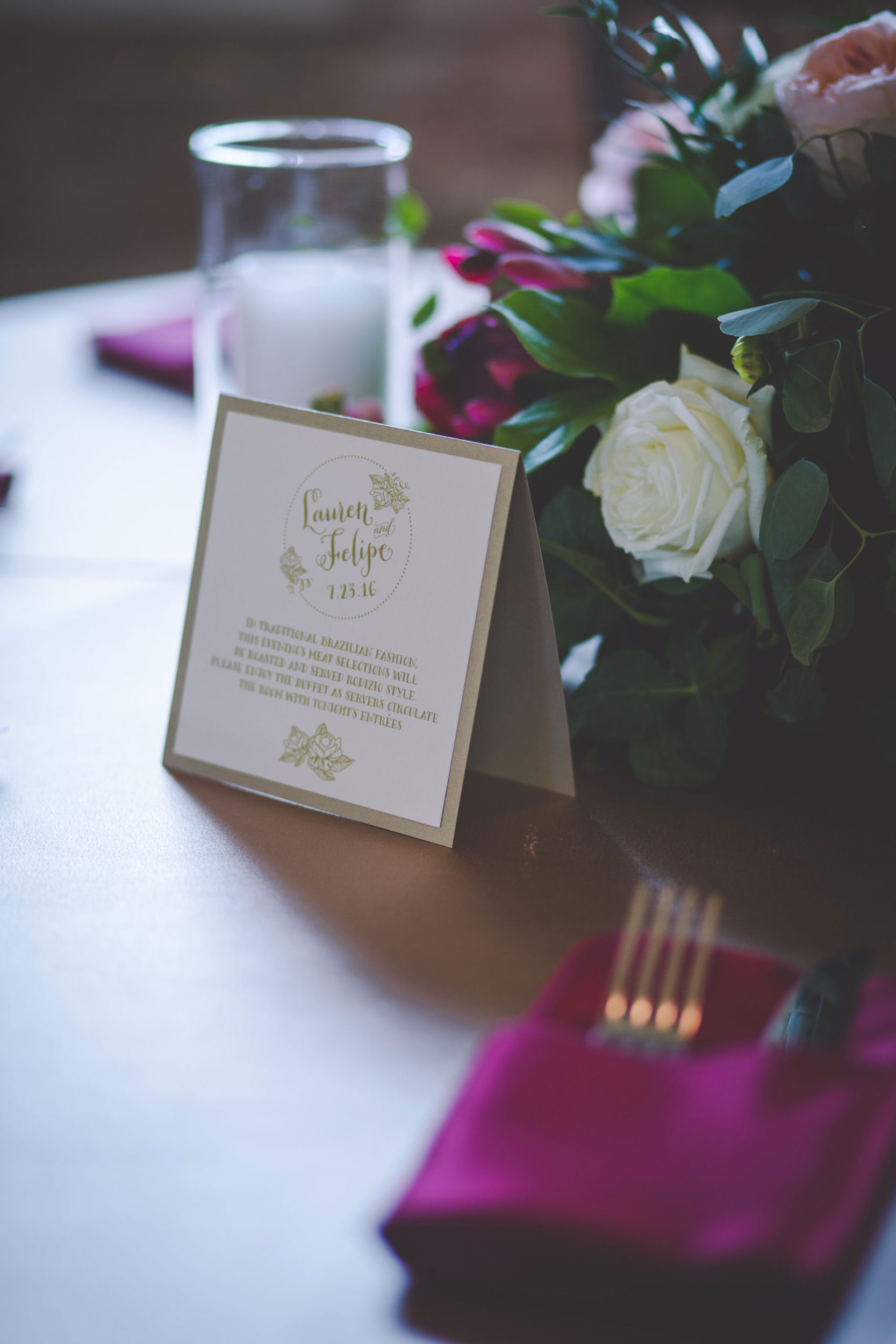 Placecards for Wedding Planned by Weddings by Stardust, Dallas, Tx