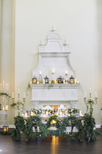 Fairytale Soiree Wedding Arrangement by Dallas Wedding Planners