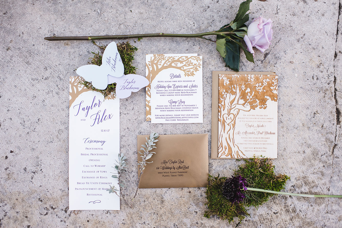 Real Wedding: Step into an Enchanted Forest | Weddings by StarDust